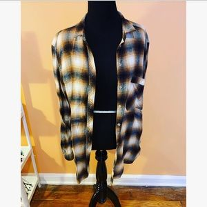 BDG Brown Flannel